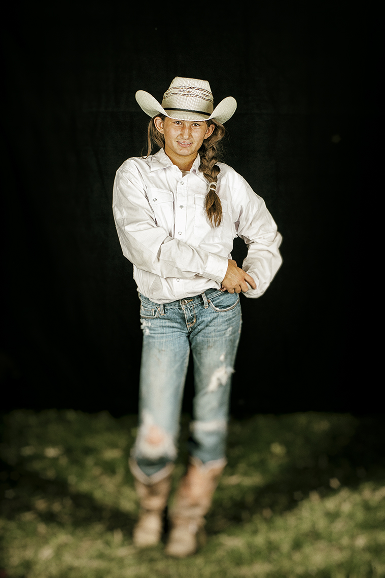 Jr. Barrel Racer
