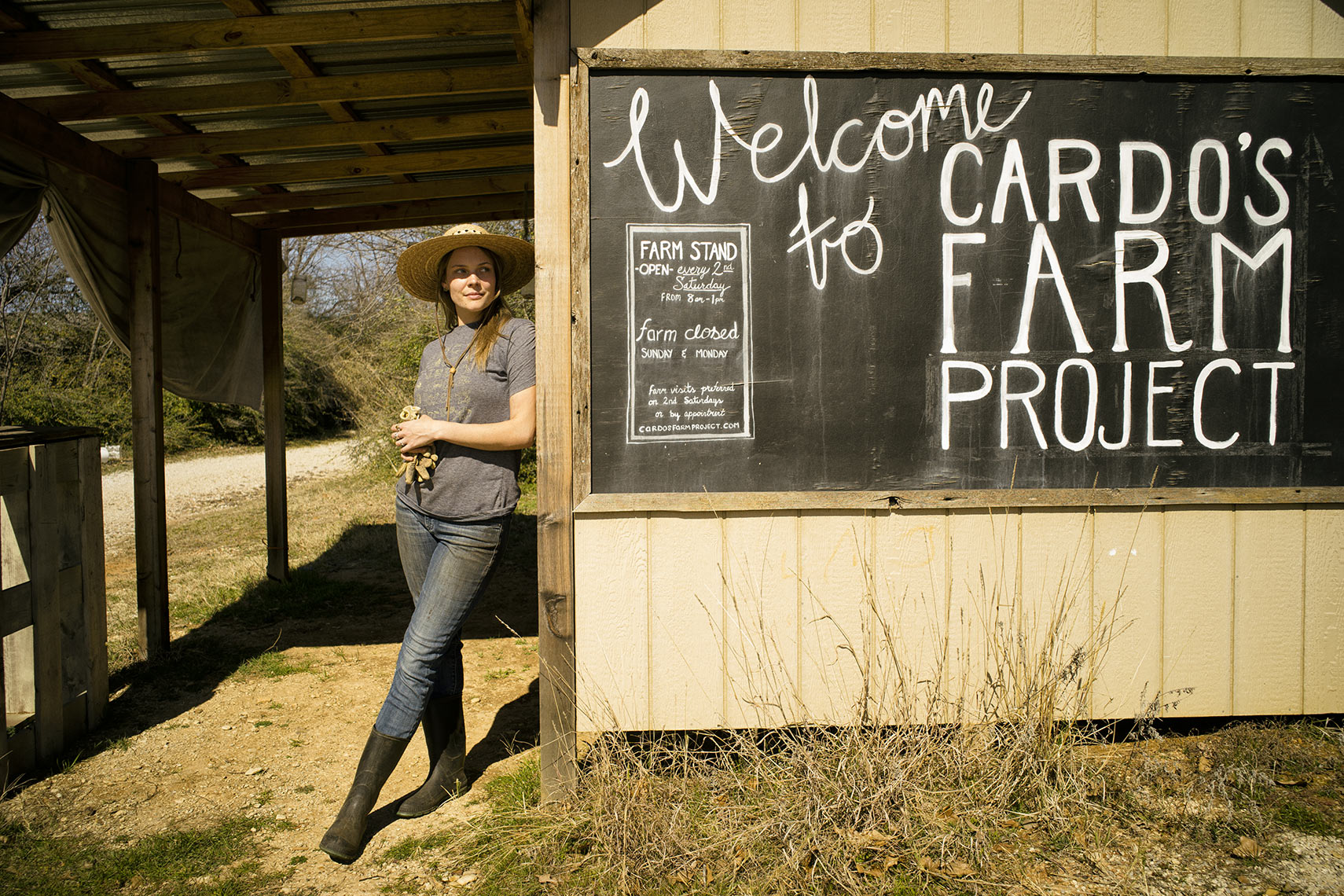 "Courtney Swearingen, Texas Co-op Magazine ""A New Crop of Texas Farmers"""